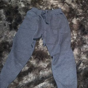 Zara Knit Gray Joggers